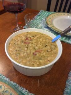 Rosemary White Beans