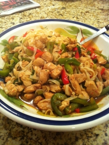Spicy Chicken with noodles
