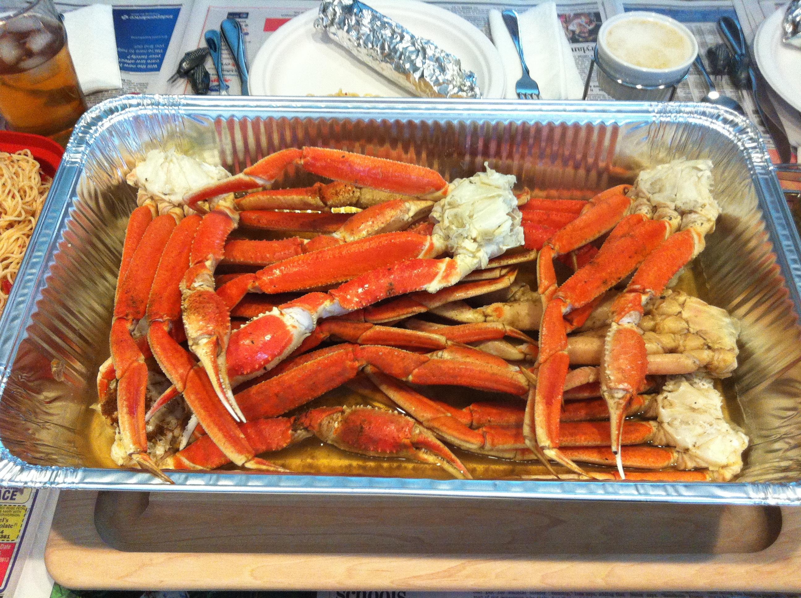 Steamed Snow Crab Legs Recipe  Genius Kitchen