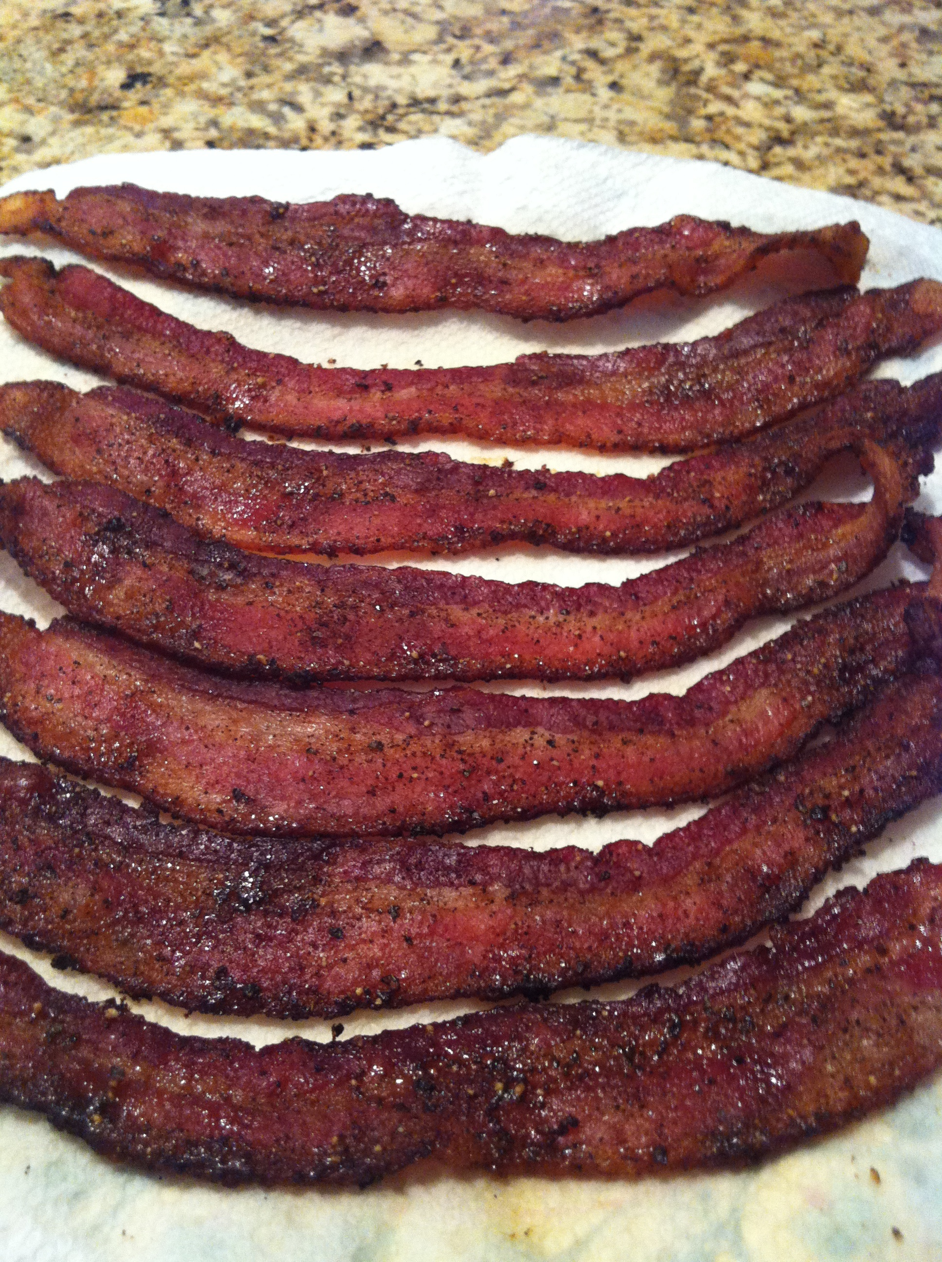Brown Sugar And Chili Dusted Bacon Smartchefblog