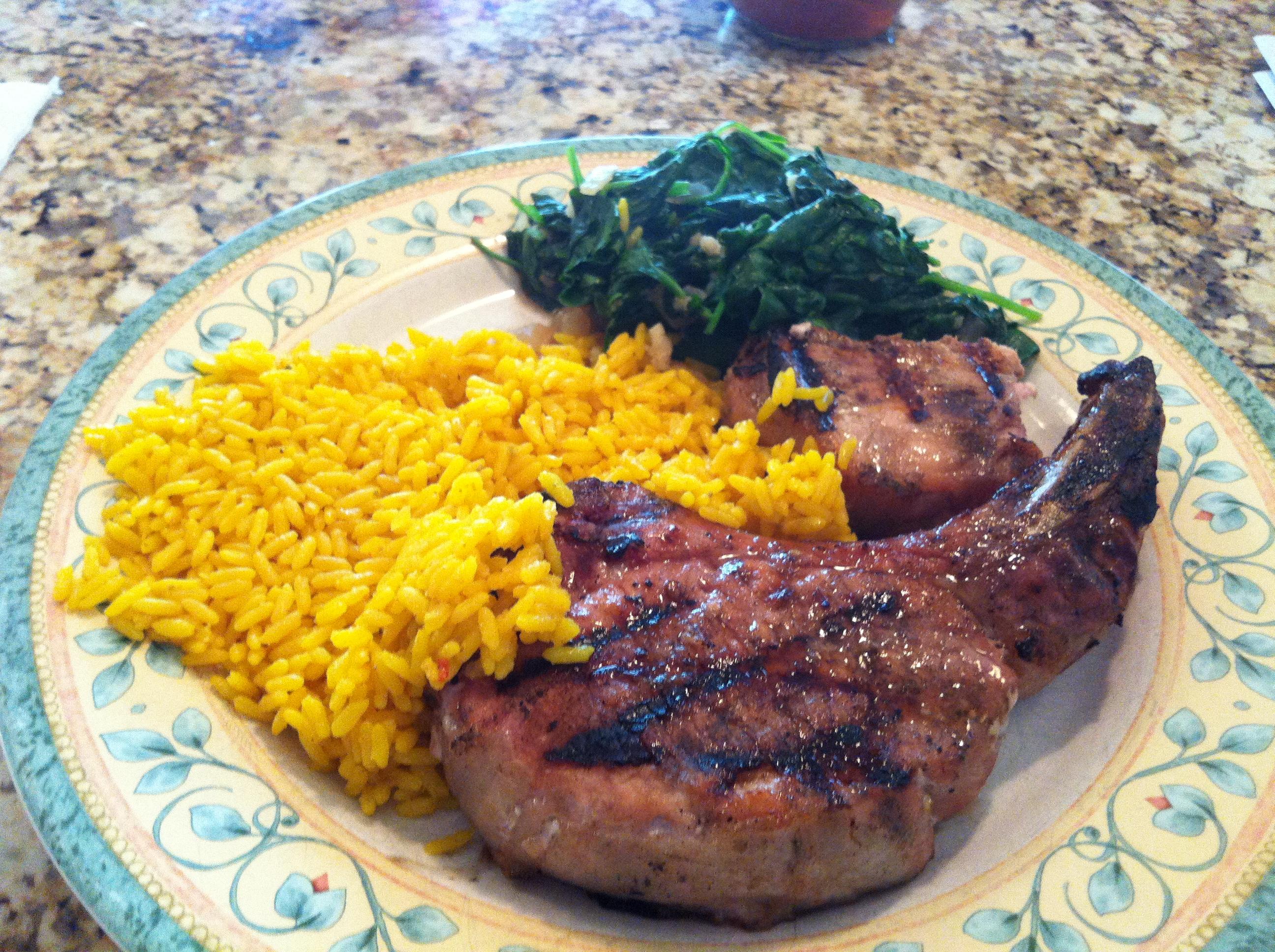 Grilled Pork Chops | Smartchefblog